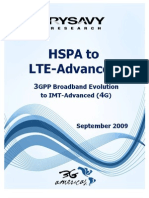 HSPA to LTE