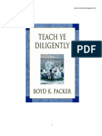Boyd K. Packer - Enseñad Diligentemente
