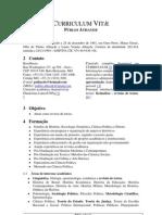 Currículo de Públio Athayde - revisor de textos