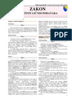 Zakon o Zastiti Licnih Podataka_lat