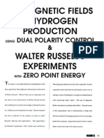 Russel - Use of Magnetif Fields for Hydrogen Production