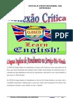 Reflexão Crítica Ingles- serviço pós-venda