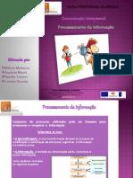 Trabalho de Grupo-Processamento da informação