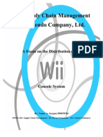 Nintendo Wii Supply Chain Paper