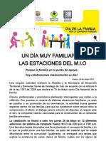 Un Dia Muy FAMILIAR EN LAS ESTACIONES DEL M.I.O