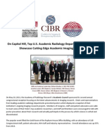 CIBR Congressional Events Summary-Academic Council