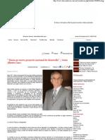 """23-05-11  """" Hacia un nuevo proyecto nacional de desarrollo"""" / Jesús Alberto Cano"""