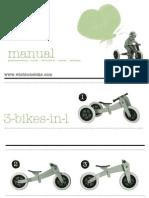 Wishbone Bike Manual ENG