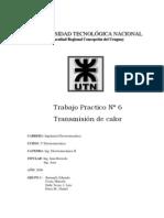 [Ing. Electromecanica II] - TPN 6 - Transmision de Calor