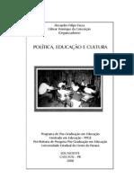 Livro 1 Politica Educacao Cultura Unioeste Mestrado Em Educacao PDF%5B1%5D
