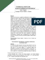 CHOPPIN, Alain. O manual escolar_ Uma falsa evidência histórica_