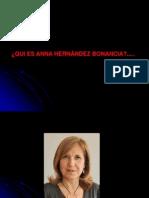 Qui es Anna Hernández?
