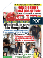 LE BUTEUR PDF du 27/05/2011