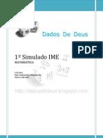 Dados de Deus - Simulado IME (Matemática))