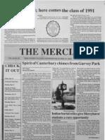 The Merciad, May 9, 1991