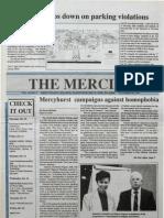 The Merciad, Oct. 10, 1991