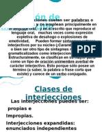 Definición de interjección