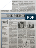 The Merciad, March 26, 1992
