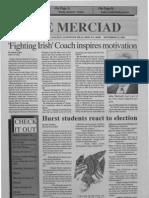 The Merciad, Nov. 29, 1992