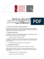 01.3 Manual Apa 5 Ed Citas y Referencias