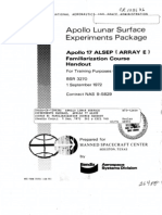 Apollo Lunar Surface Experiments Package. Apollo 17 ALSEP (Array E) Familiarization Course Handout