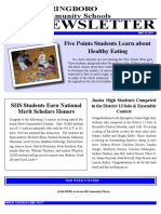 Springboro Schools May 2011 Newsletter