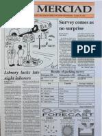 The Merciad, Oct. 27, 1994