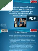 Propuesta sustratos programas PIREC en México CATCO ARISTO