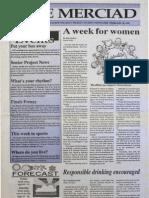 The Merciad, Feb. 16, 1995