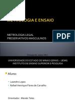METROLOGIA E ENSAIO