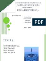 EXPOSICION ÉTICA PROFESIONAL