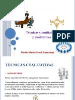 Tecnicas Cualitativas y Cuantitativas
