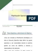 PLANIFICACION OPERATIVA