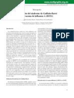 Asociacion Del Sx de Guillan Barre y La Vacuna de La Inf a h1n1