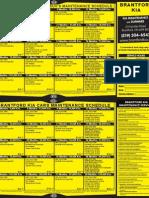Kia Service Schedule Brantford