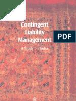 Contingent Liability Management- COMSEC London