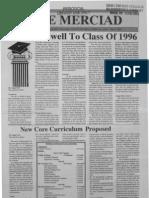 The Merciad, May 9, 1996