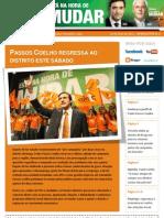 Newsletter campanha PSD Nº3