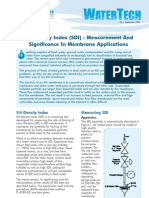 SDI Silt Density Index
