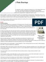Failure Analysis for Plain Bearings
