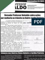 INFORMATIVO PROFESSOR NEIVALDO 001/2011