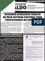 PROFESSOR NEIVALDO - INFORMAÇÃO_05_2011