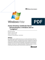 Certificate Services Enhancements in Longhorn Server