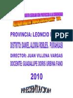 BIOHUERTO ESCOLAR-Proyecto