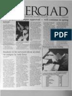 The Merciad, Feb. 9, 2000
