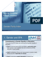 Gender Parity Index - Michael Koronkiewicz