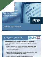 Gender Parity Index - Michael Koronkiewicz