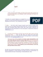 Notizen zur Offenbarung (8)