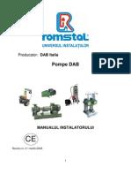 Manualul Instalatorului DAB-Ro