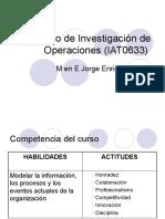 Curso de Investigacin de Operaciones